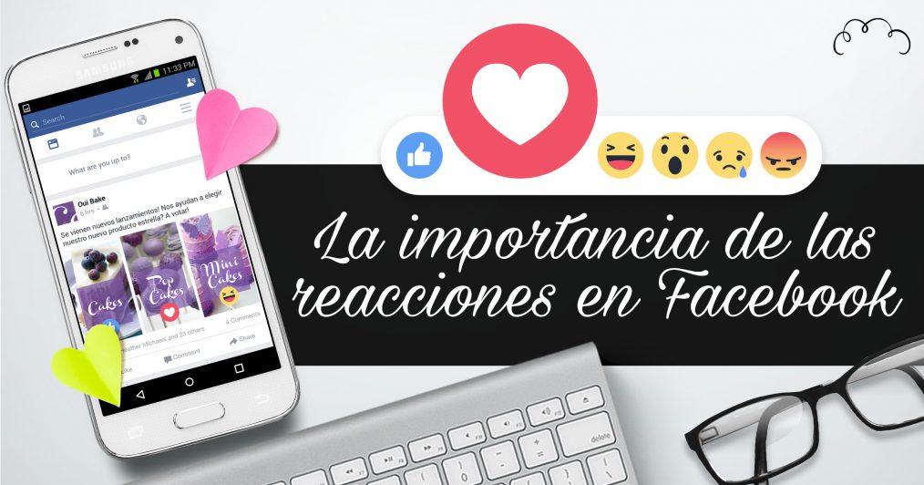 La importancia de las reacciones en Facebook