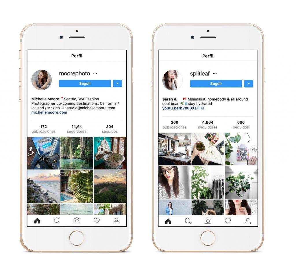 Acotar paleta en Instagram