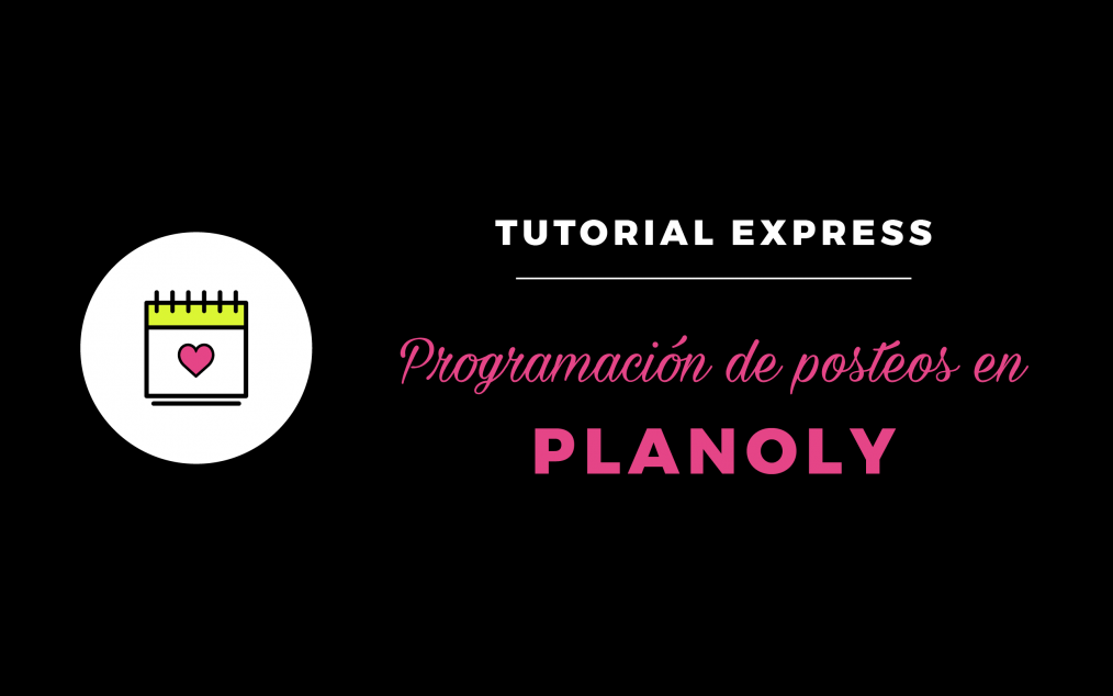 Tutorial Planoly